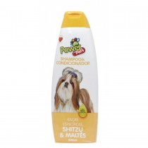 SHAMPOO POWER PETS SHITZU/MALTES 500 ML