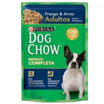 DOG CHOW PS ADULTO RP FRANGO ARROZ 100 GR