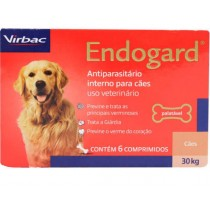 ENDOGARD 30 KG CADA COMPRIMIDO