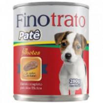 FINOTRATO PATE CAES FILHOTES SABOR CARNE 280 GR