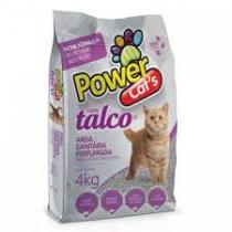 AREIA POWER CATS TALCO  4 KG