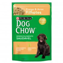 DOG CHOW PS FILH FRANGO & ARR 100 G BR