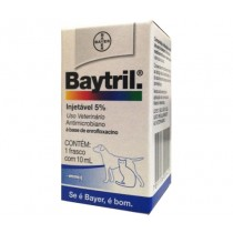 BAYTRIL INJ 5% 10 ML CA