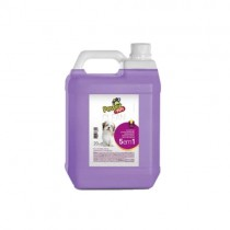 SHAMPOO POWER PETS 5X1 5 L