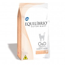 EQUILIBRIO VETERINARY CAT OBESITY &DIABET 2 KG