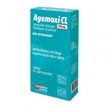 AGEMOXI CL 50 MG X 10 CPO VER