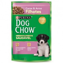 DOG CHOW PS FILHOTE CARNE ARROZ 100 GR