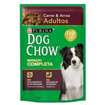 DOG CHOW PS ADULTO CARNE ARROZ 100 GR