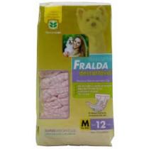 FRALDA DESCARTAVEL M C 12