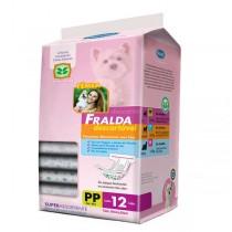 FRALDA DESCARTAVEL PP C 12
