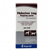 MELOXIVET 1 MG 10 COMP