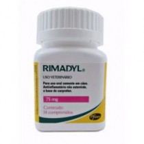 RIMADYL 75 MG 14 CP