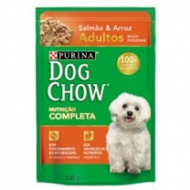 DOG CHOW PS AD RP SALMAO & ARROZ 100 GR